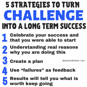 turn challenges into success