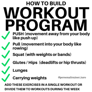 how to build a bodyweight workout program